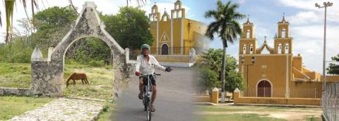 Izamal, Kantunil, Sudzal and Xanaba Yucatan by bike and bus